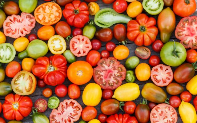Green Bean & Heirloom Tomato Salad