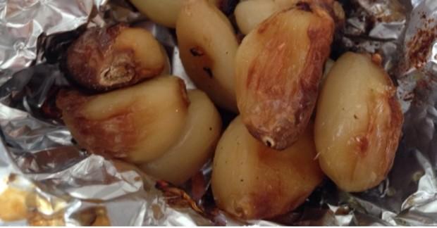 Roasted Garlic & Kale Soup