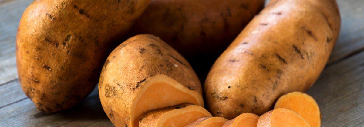 Maple-Glazed Sweet Potatoes with Cipollini Onions